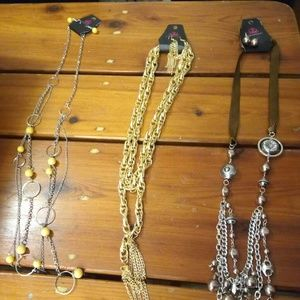 Necklace Lot of 3